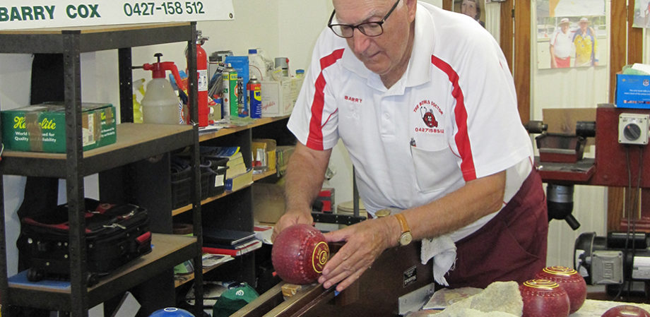 BArry Cox the Lawn Bowls Doctor warns that your lawn bowls may not be up to standard